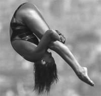 Елена Мирошина — советская и российская спортсменка, прыгунья в воду