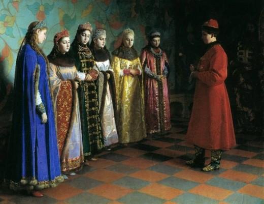 «Как пройти кастинг и выйти замуж за царя»: «Брачные традиции на Руси»